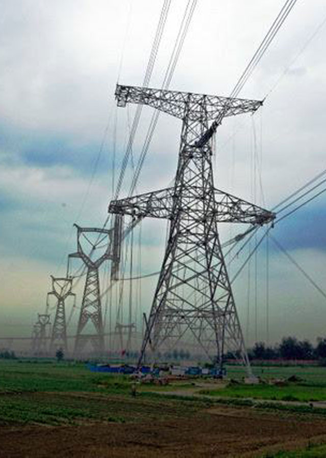 800KV-Transmission-Line-Towers-from-Lingzhou-to-Shaoxing